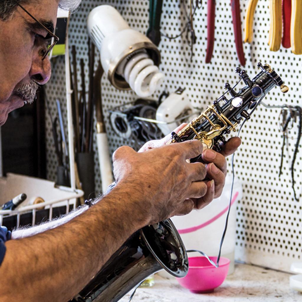 خدمات پس از فروش و تعمیرات انواع ساز سرنا
