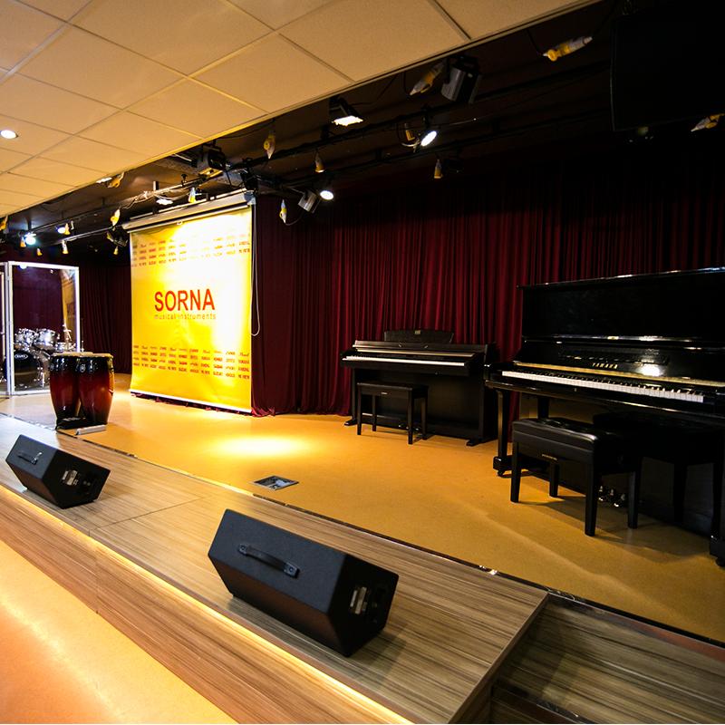 سالن کنسرت سرنا – sorna concert hall