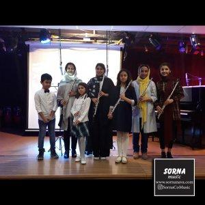 کنسرت هنرجویان فلوت آموزشگاه سرنا ( سرکار خانم الیکا ملک )