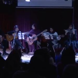 کنسرت هنرجویان آموزشگاه دیبا با مدیریت سرکار خانم فاطمه دیبا