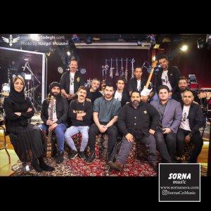 برگزاری کنسرت مجازی رضا صادقی در سالن کنسرت سرنا